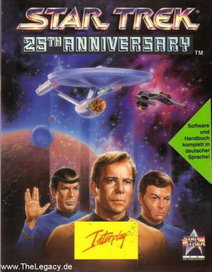 Misc. Games - Star Trek: 25th Anniversary