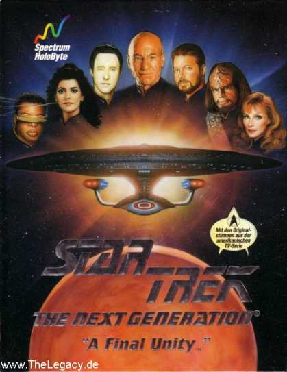 Misc. Games - Star Trek - The Next Generation: A Final Unity