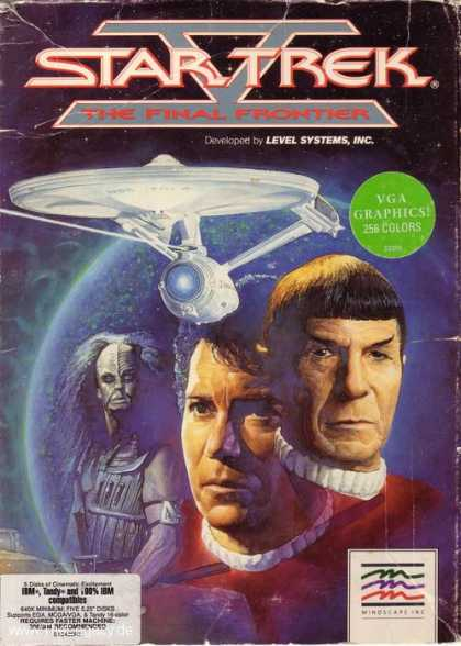 Misc. Games - Star Trek V: The Final Frontier