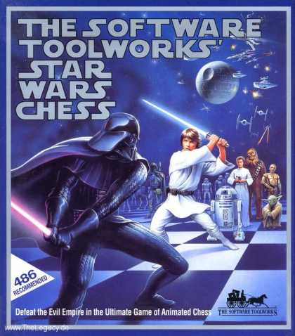Misc. Games - Software Toolworks' Star Wars Chess, The