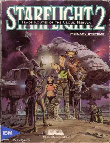 Misc. Games - Starflight 2: Trade Routes of the Cloud Nebula
