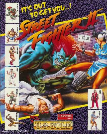 Misc. Games - Street Fighter II: The World Warrior