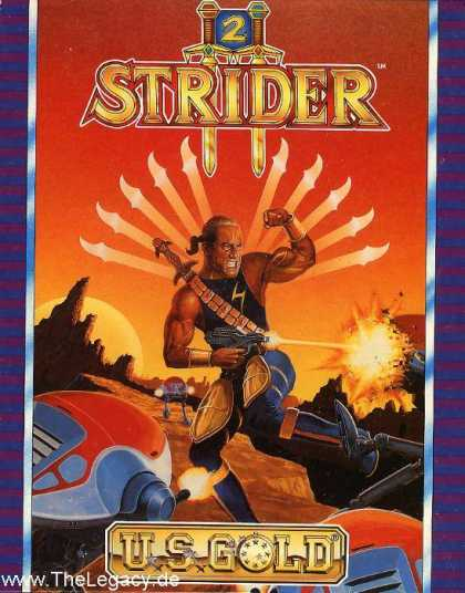 Misc. Games - Strider 2