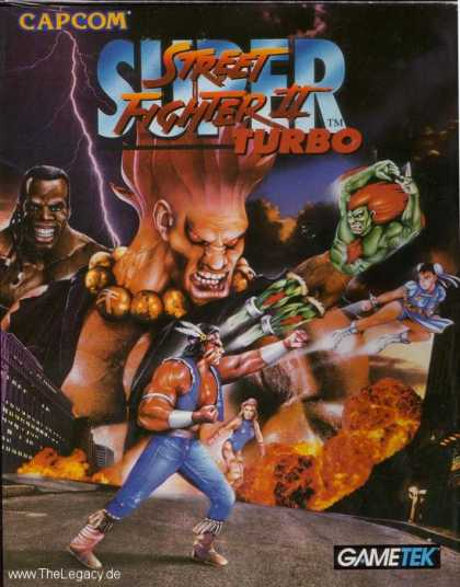 Misc. Games - Super Street Fighter II Turbo