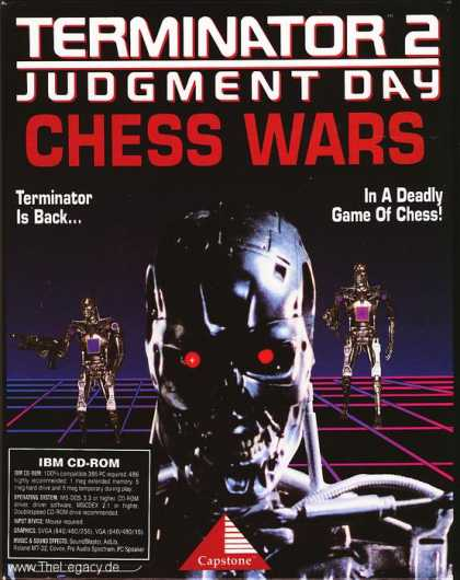 Misc. Games - Terminator 2 Chess Wars