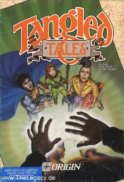 Misc. Games - Tangled Tales: The Misadventure of a Wizard's Apprentice