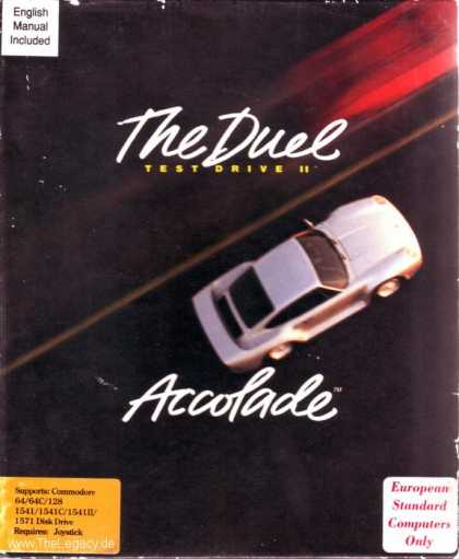 Misc. Games - Test Drive II: The Duel