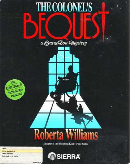 Misc. Games - Colonel's Bequest, The: A Laura Bow Mystery