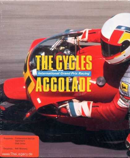 Misc. Games - Cycles, The: International Grand Prix Racing