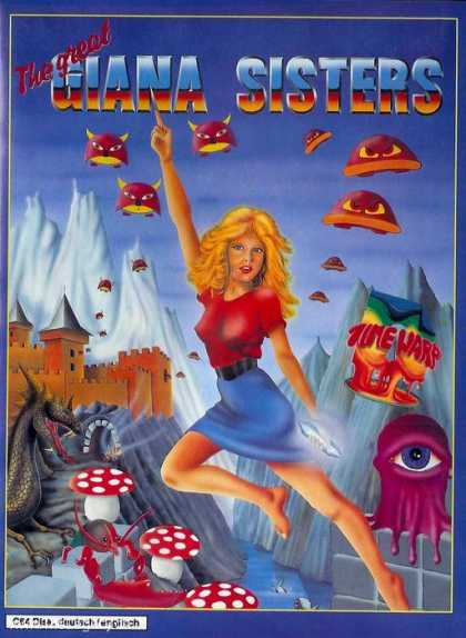 Misc. Games - Great Giana Sisters, The