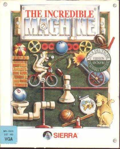 Misc. Games - Incredible Machine, The