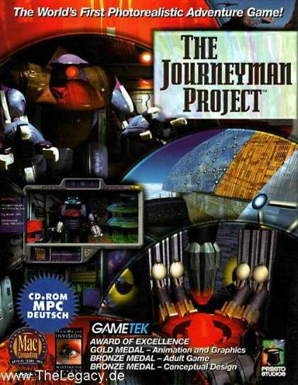 Misc. Games - Journeyman Project, The