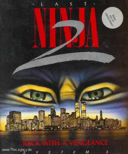 Misc. Games - Last Ninja 2: Back with a Vengeance