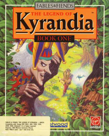 Misc. Games - Fables & Fiends - The Legend of Kyrandia: Book One