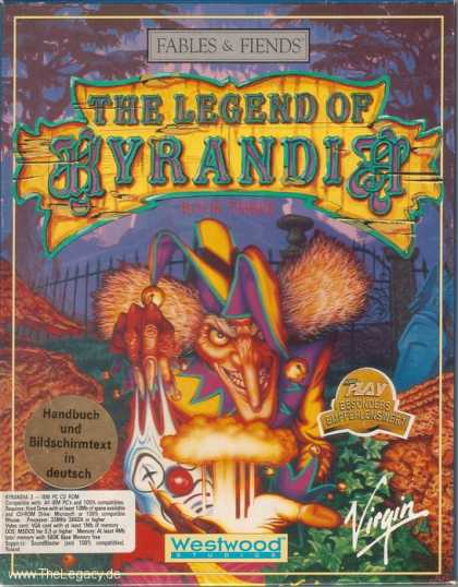 Misc. Games - Fables & Fiends - The Legend of Kyrandia: Book Three