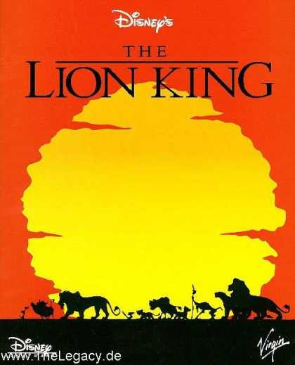 Misc. Games - Lion King, The