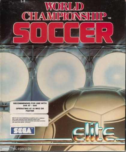 Misc. Games - World Championship Soccer
