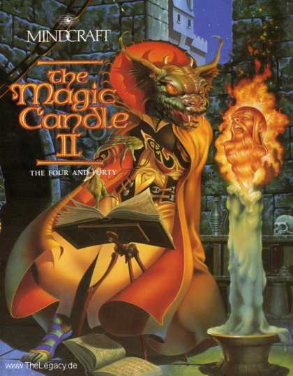 Misc. Games - Magic Candle II, The: The Four and Forty