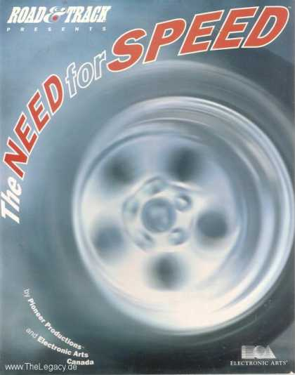 Misc. Games - Need for Speed, The