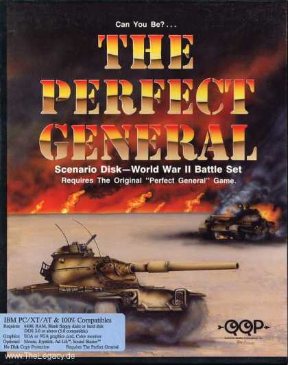 Misc. Games - Perfect General, The: World War II Battle Set -Scenario Disk-