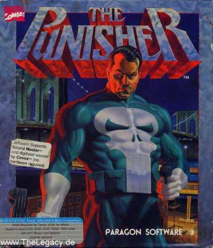 Misc. Games - Punisher, The
