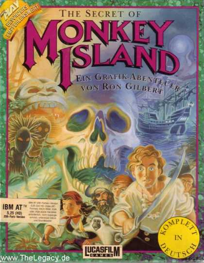Misc. Games - Secret of Monkey Island, The