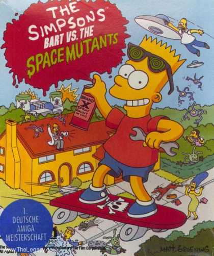 Misc. Games - Simpsons, The: Bart vs. the Space Mutants