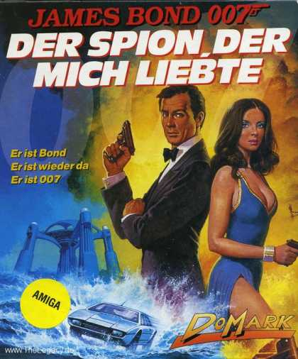 Misc. Games - James Bond 007 - The Spy who loved me