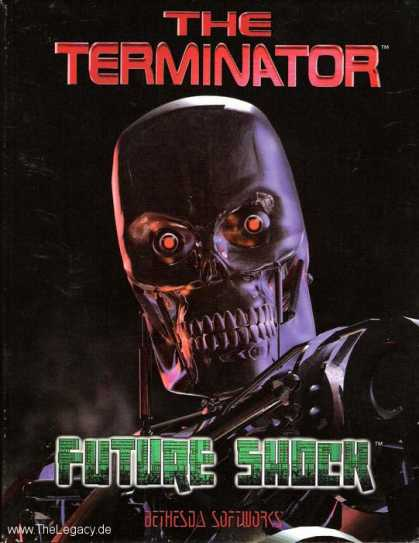 Misc. Games - Terminator, The: Future Shock