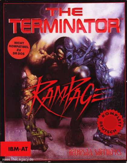 Misc. Games - Terminator Rampage, The