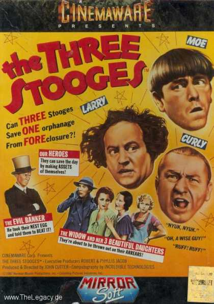 Misc. Games - Three Stooges, The
