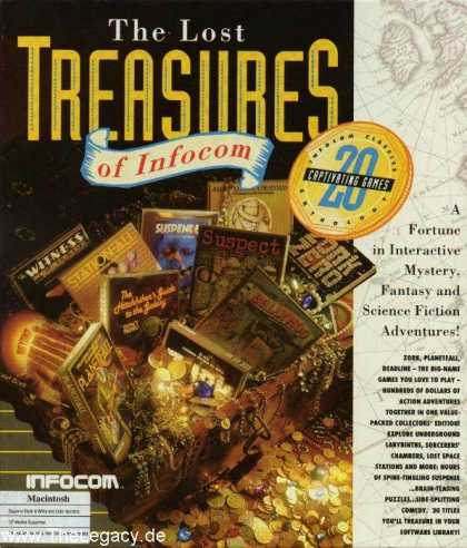 Misc. Games - Lost Treasures of Infocom I, The