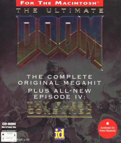 Misc. Games - Ultimate Doom, The: Thy Flesh Consumed