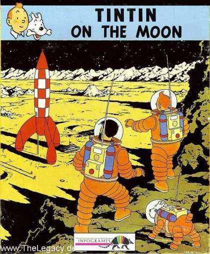 Misc. Games - Tintin on the Moon