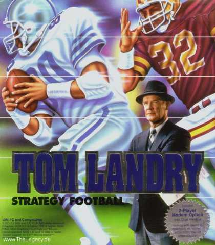 Misc. Games - Tom Landry: Strategy Football