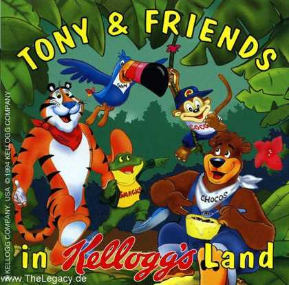Misc. Games - Tony & Friends: in Kellogg's Land