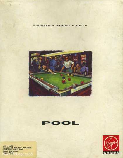 Misc. Games - Archer MacLean's Pool
