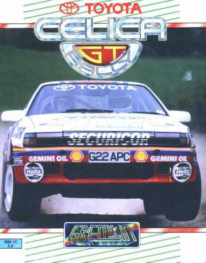 Misc. Games - Toyota Celica GT Rally