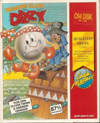 Misc. Games - Treasure Island Dizzy