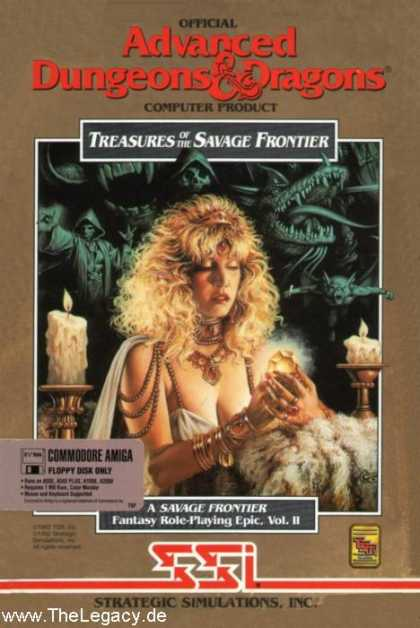 Misc. Games - Treasures of the Savage Frontier