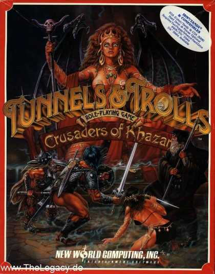 Misc. Games - Tunnels & Trolls: Crusaders of Khazan