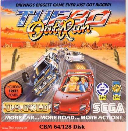 Misc. Games - Turbo Out Run