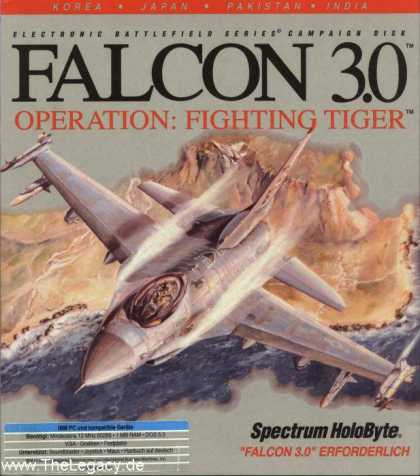 Misc. Games - Falcon 3.0: Operation Fighting Tiger