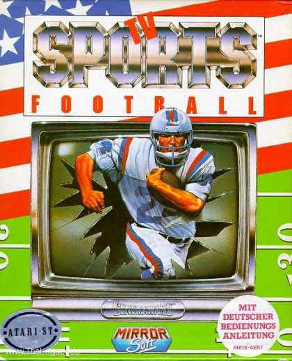 Misc. Games - TV Sports Football