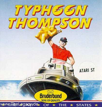 Misc. Games - Typhoon Thompson: Search for the Sea Child