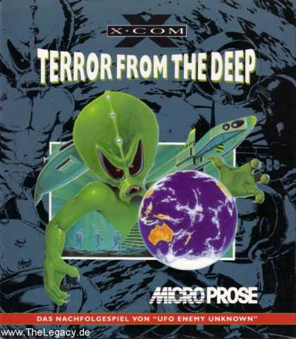 Misc. Games - X-COM: Terror from the Deep