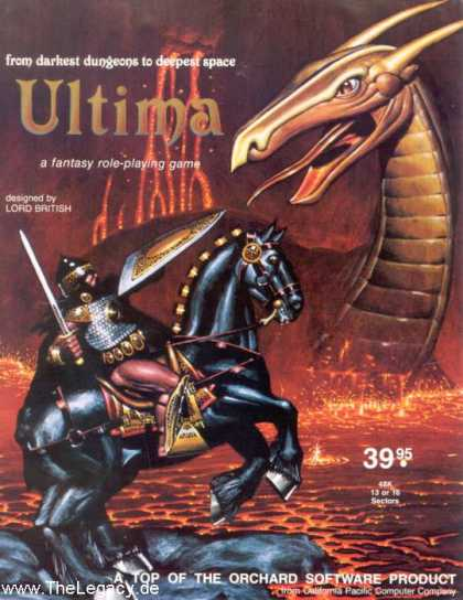 Misc. Games - Ultima I: The First Age of Darkness