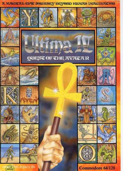 Misc. Games - Ultima IV: Quest of the Avatar