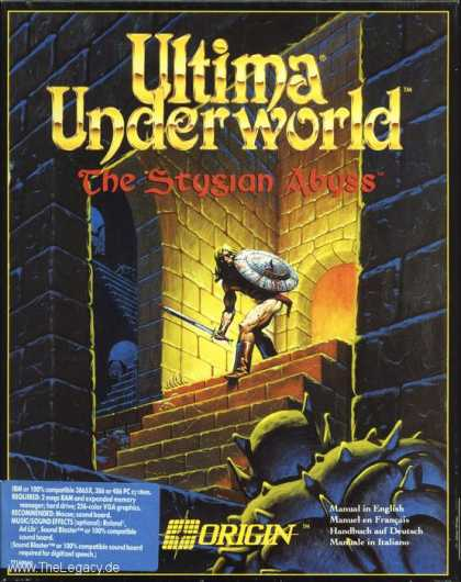 Misc. Games - Ultima Underworld: The Stygian Abyss