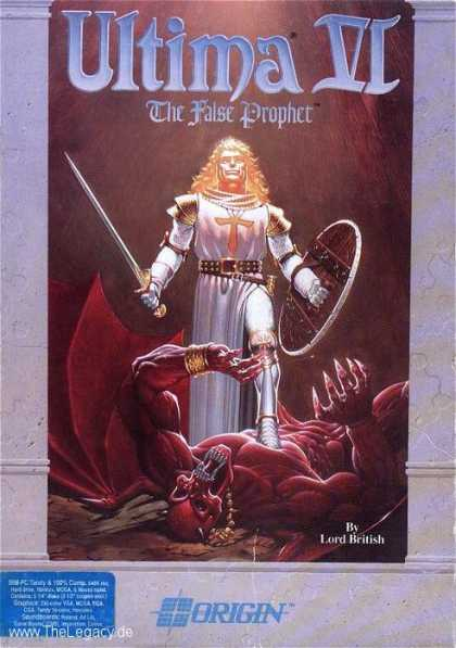 Misc. Games - Ultima VI: The False Prophet